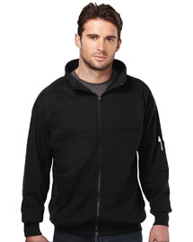 Mens 80% Cotton/20% Polyester Full Zip Fleece Jacket