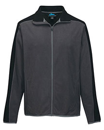 Tri-Mountain F7381 Men's 100% Polyester Anti-Pilling Micro Fleece (Double Brushed) at bigntallapparel