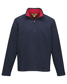 Men's 100% Polyester Knit Bonded Contrast Micro Fleece