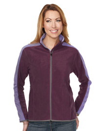Tri-Mountain FL7381 Women's 100% Polyester Anti-Pilling Micro Fleece (Double Brushed) at bigntallapparel