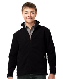 Tri-Mountain FY7608 Boy's 100% Polyester Fleece Jacket at bigntallapparel