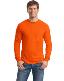 Mens Ultra Blend 50/50 Cotton/Poly Long Sleeve T Shirt