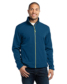 Port Authority J316 Traverse Soft Shell Jacket at bigntallapparel