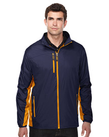 Tri-Mountain J3300 Men's 100% Nylon Full Zip W/R  Wind Jacket at bigntallapparel