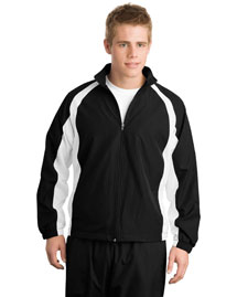 Sport-Tek J712 Mens 5 In 1 Performance Full Zip Warm Up Jacket at bigntallapparel