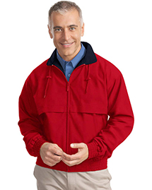 Port Authority J753 Mens Classic Poplin Jacket at
