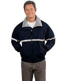 Big Mens Challenger Work Jacket With Reflective Taping