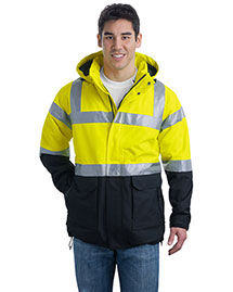 Big Mens Safety Heavyweight Parka
