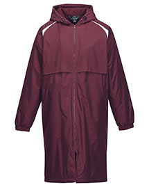 Tri-Mountain J9950 Men's 100% Nylon Taslon Coat With Poly Fleece Lining