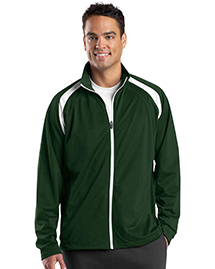 Sport-Tek JST90 Mens Tricot Track Jacket at bignta
