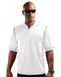 Mens 100% Polyester Micro mesh 3 button polo