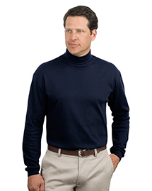 Port Authority K322 Mens Interlock Knit Turtleneck at bigntallapparel
