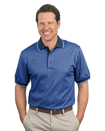 Port Authority K416 Mens Twill Interlock Polo Spor