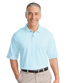 Mens Pima Cotton Fine Knit Polo Sport Shirt