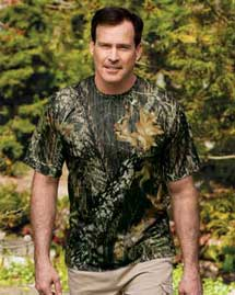 Signature Mens Short Sleeve Mossy Oak Performance T Shirt