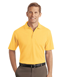 Mens Textured Sport Shirt with Wicking