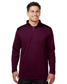 Men's 100% Polyester 1/4 Zip Pullover w/TMP puller
