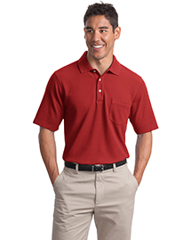 Port Authority Signature K800P Mens Ez Cotton Piqu