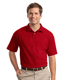 Mens 61 Ounce Jersey Knit Polo Sport Shirt