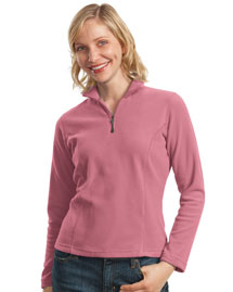 Ladies Activo 1/4-Zip Microfleece Pullover.  L102