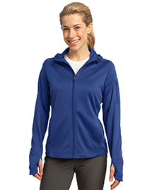 Ladies Tech Fleece Full-Zip Hooded Jacket. L248