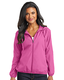 Ladies Hooded Essential Jac...