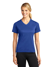 Dri-Mesh ®  Ladies V-Neck T-Shirt.  L468V