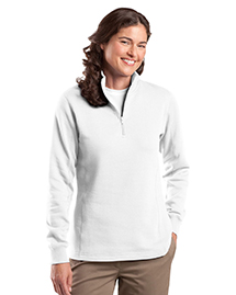 Ladies 1/4-Zip Sweatshirt. ...