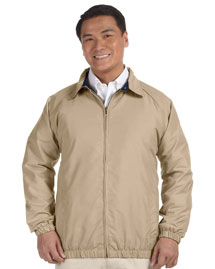 Harriton M710 Microfiber Club Jacket at bigntallap