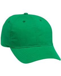 Harriton M820 Mens 6 Panel Structured Cotton Twill Cap at bigntallapparel
