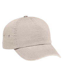 Harriton M845 Mens Washed Twill Baseball Cap at bigntallapparel