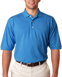 Mens 7 Ounce Ultimate  Polo Sport Shirt