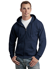 Mens ComfortBlend Full Zip Hooded SweatShirt