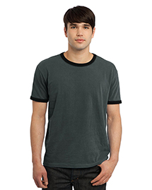 Port & Company PC100 Pigment-Dyed Ringer Tee. at bigntallapparel