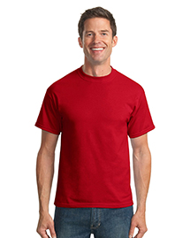 Port & Company PC55 Mens 50/50 Cotton/Poly T Shirt at bigntallapparel