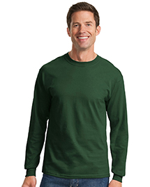 Mens 100% Cotton Essential Long Sleeve T Shirt