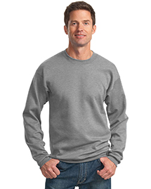 Port & Company PC78 Mens 78 Oz Crewneck Sweatshirt at bigntallapparel