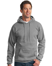 Port & Company PC78H Mens 78 Oz Pullover Hooded SweatShirt at bigntallapparel