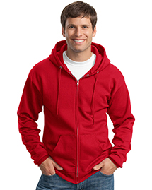 Mens 78 Oz Full Zip Hooded SweatShirt