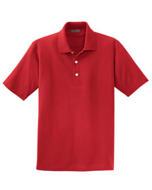 Mens 100% Organic Cotton Pique Polo Shirt