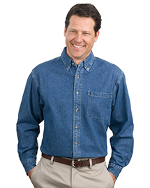 Port Authority® - Heavyweight Denim Shirt. S100
