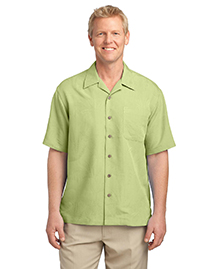 Patterned Easy Care Camp Shirt. S536