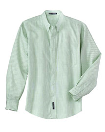 Mens Patterned Long Sleeve Easy Care Dress Shirt