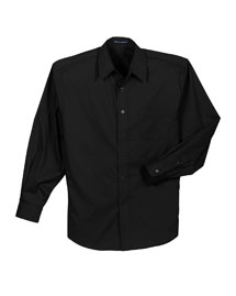 Mens Light Weight Stretch Poplin Dress Shirt