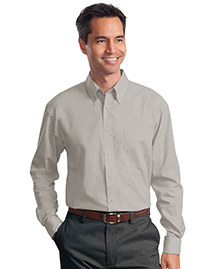 Mens Long Sleeve Value Poplin Shirt