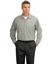 Mens Long Sleeve Industrial Work Shirt