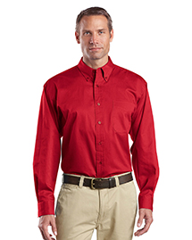 Mens Long Sleeve Super Pro Twill Shirt