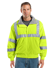 Mens Safety Challenger Work Jacket with Reflective Taping
