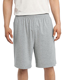 Sport-Tek ST310 Jersey Knit Short with Pockets. at bigntallapparel