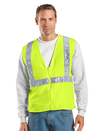 Port Authority SV01 Mens Safety Work Vest at bignt